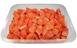 Peeled Grapefruit Chunks Image