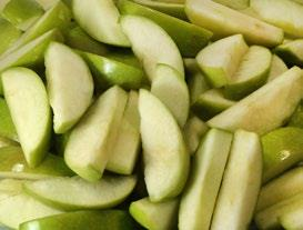 Sliced Tart Apples Image