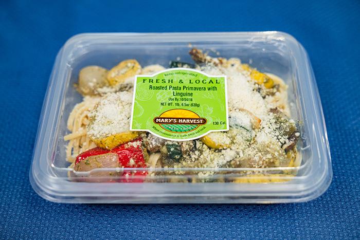Roasted Pasta Primavera with Linquine